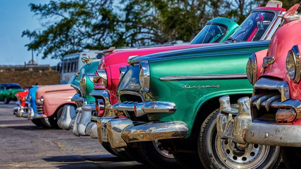 Oltimer-Festival Havanna Cuba wallpaper