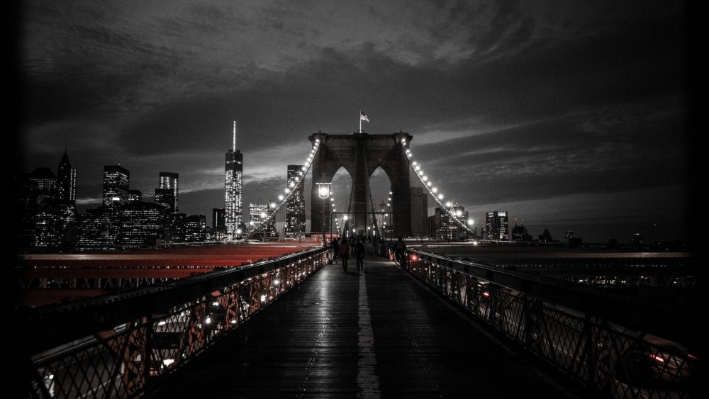 Brooklyn Bridge and NYC wallpaper