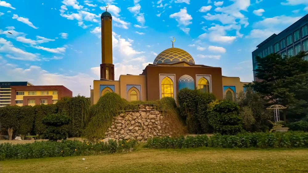 The Mosque of University of Lahore wallpaper