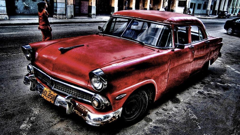 Cuban oldtimer wallpaper