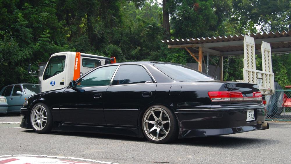 Toyota mark II JZX 100 wallpaper
