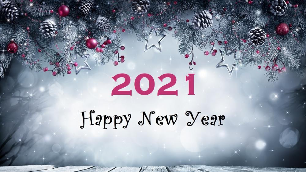 Happy New Year 2021 wallpaper