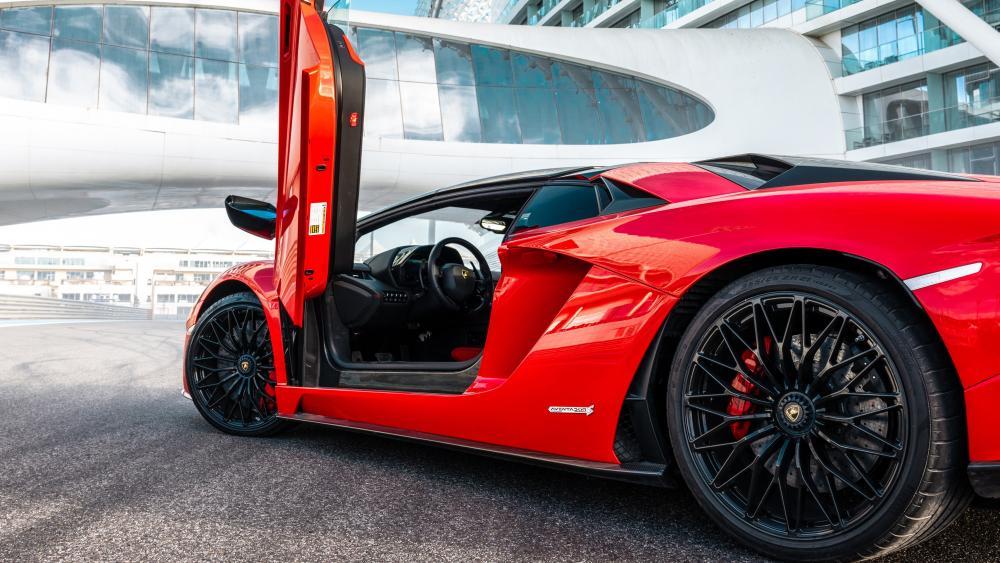 Lamborghini Aventador S Roadster wallpaper