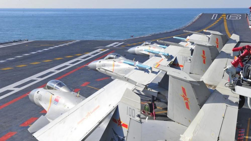 Liaoning aircraft carrier wallpaper