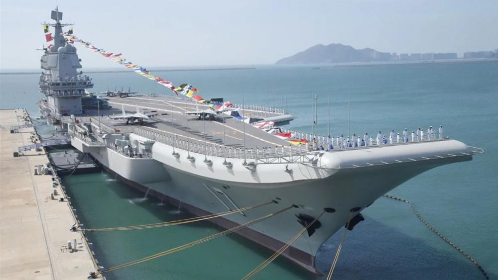 Chinese aircraft carrier Shandong wallpaper
