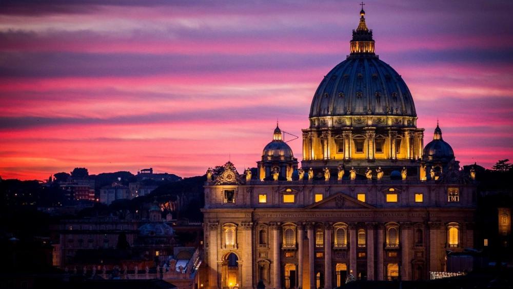 Saint Peter Basilica wallpaper