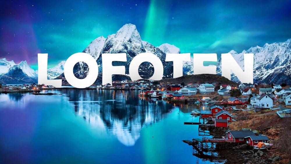 Reine - Lofoten Islands (Norway) wallpaper