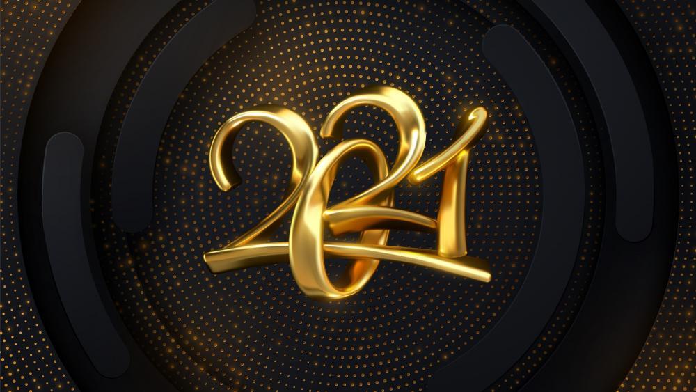 Gold 2021 wallpaper