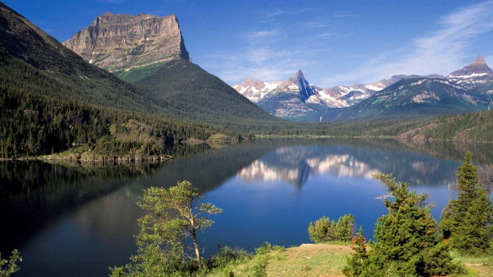 Saint Mary Lake, Montana wallpaper