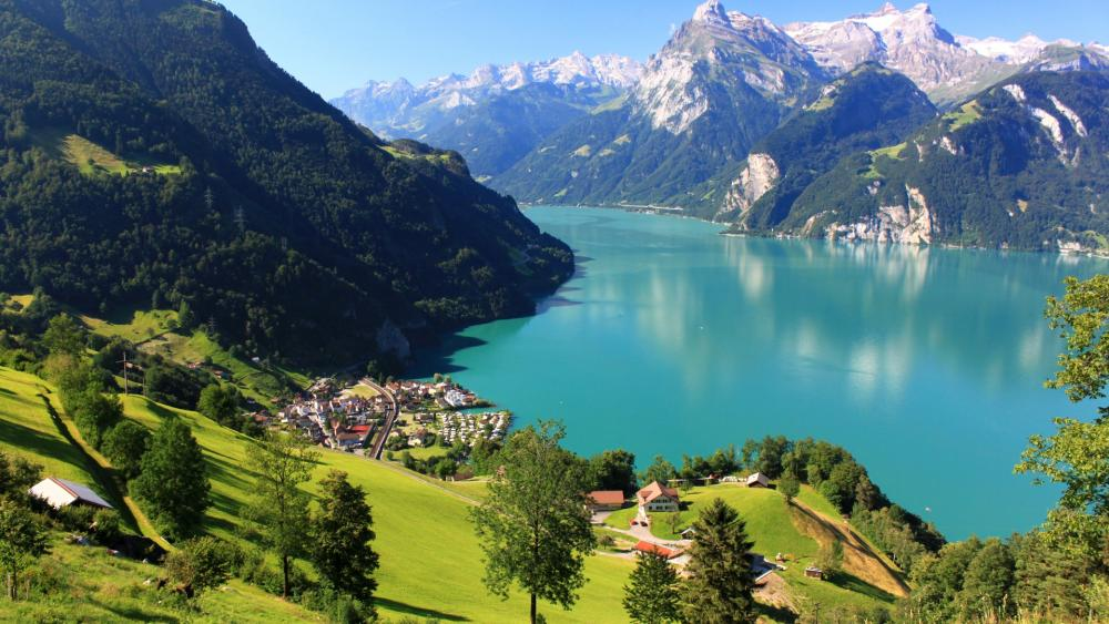 Swiss Alps wallpaper