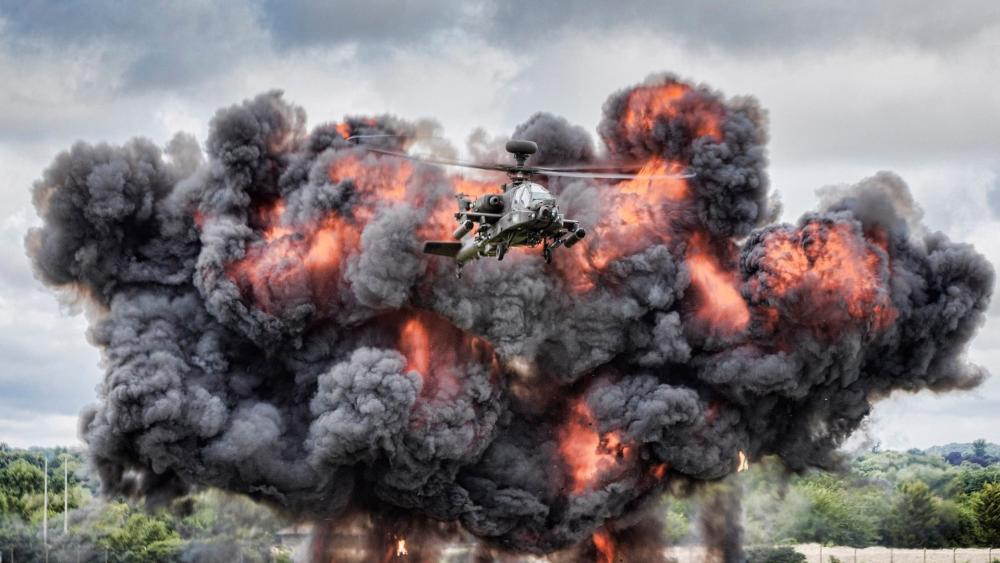 Apache AH-64 Helicopter wallpaper