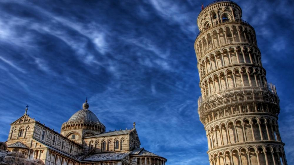 Tower of Pisa wallpaper