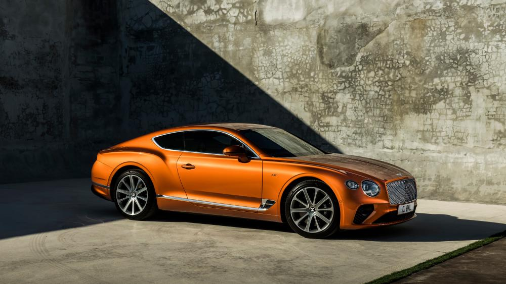 2020 Bentley Continental GT V8 Coupe wallpaper