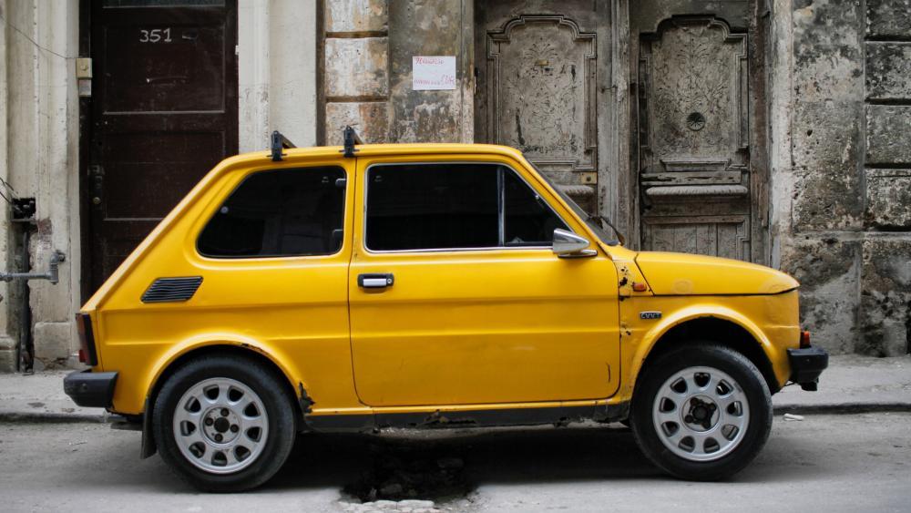 Polski Fiat 126 wallpaper
