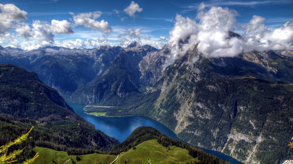 Lake Königssee, Berchtesgaden National Park wallpaper