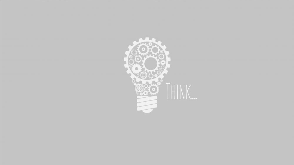 Think... wallpaper