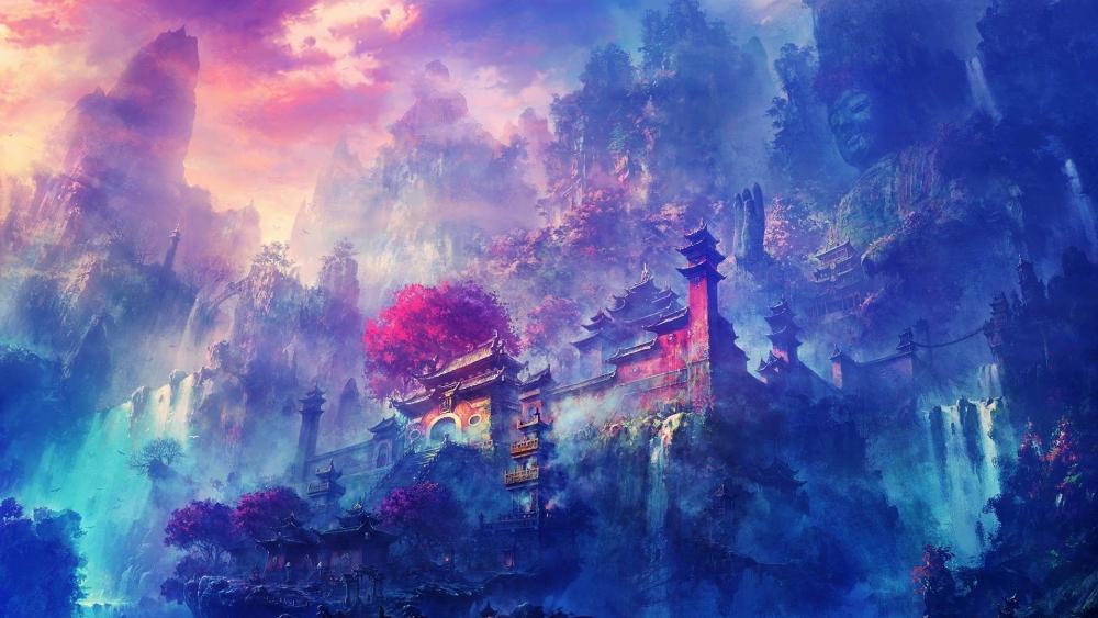 The Enchanted City wallpaper