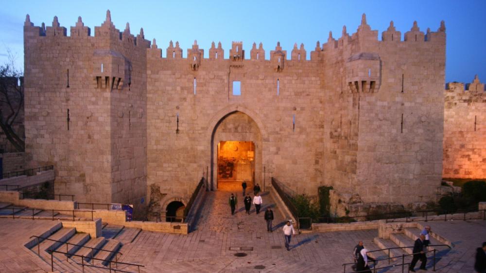 Gate of Damascus wallpaper