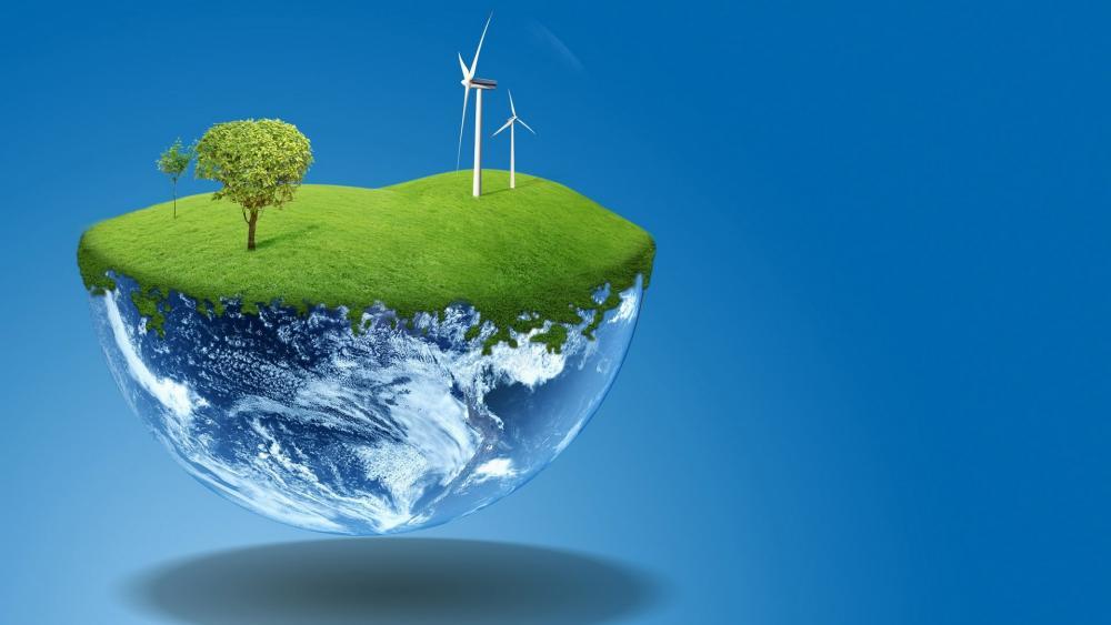 Renewable energy wallpaper