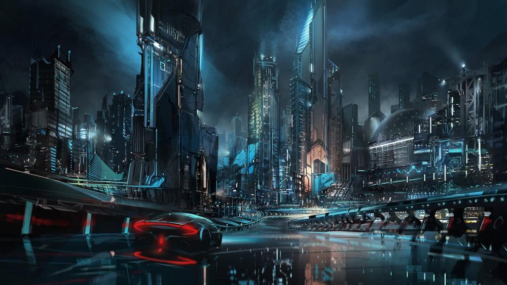 The Metropolis of Tomorrow wallpaper