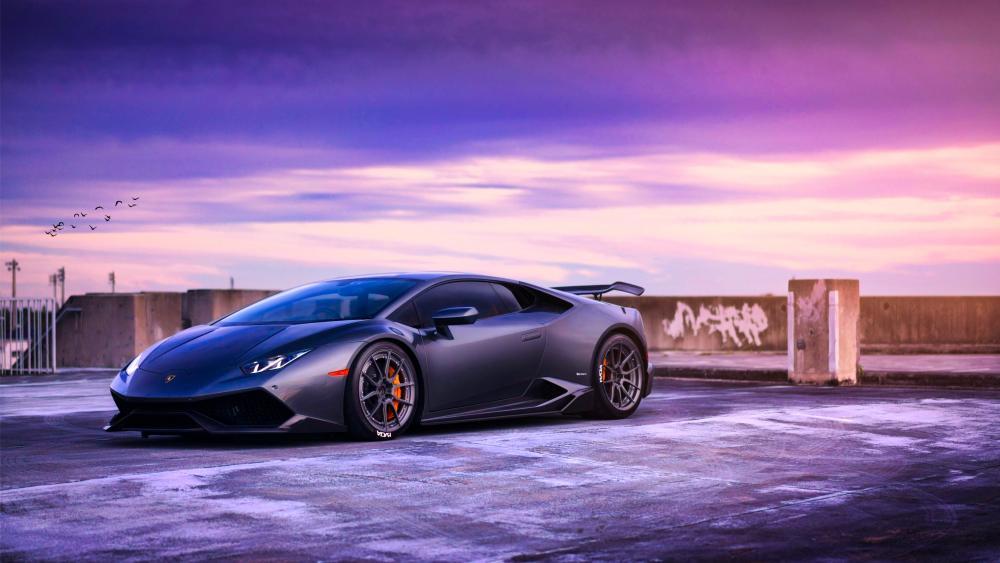 2018  Lamborghini Huracan wallpaper
