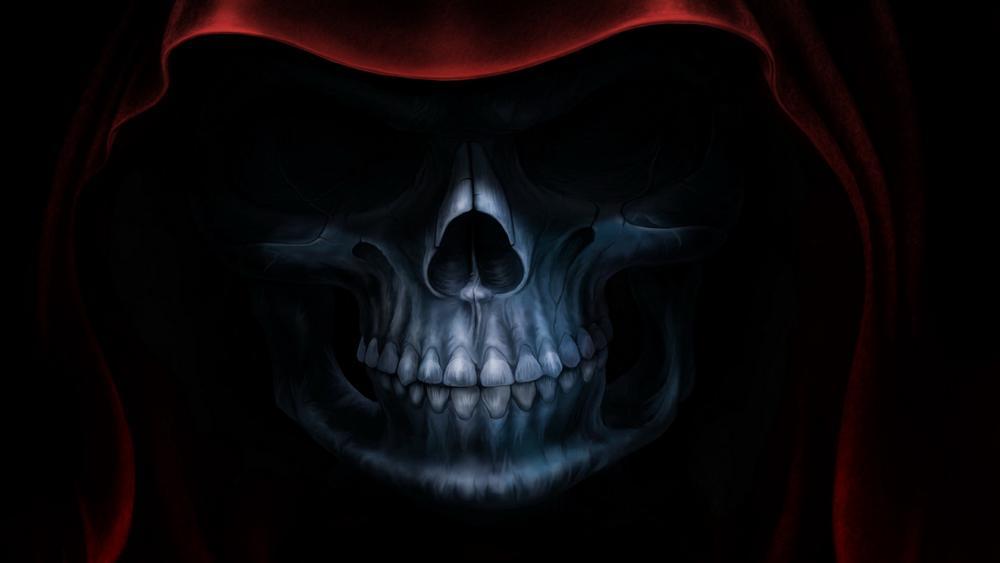 Red hooded deathbringer wallpaper