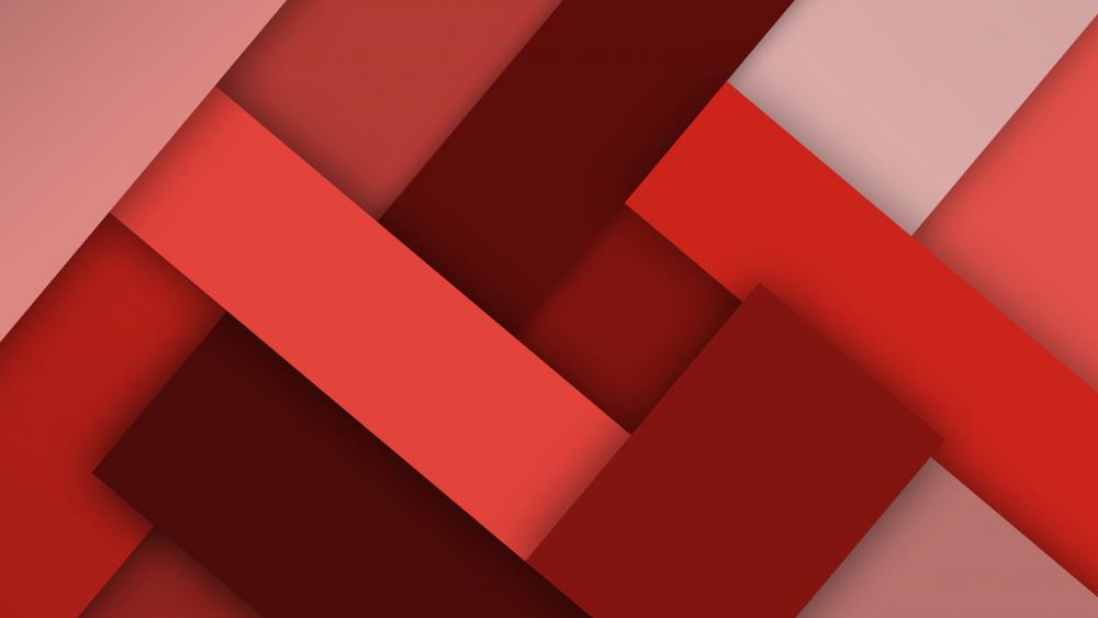 Redish rectangle wallpaper
