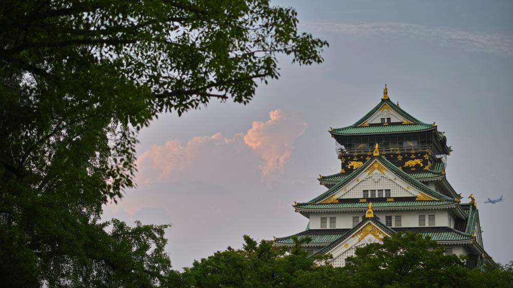 Osaka Castle wallpaper