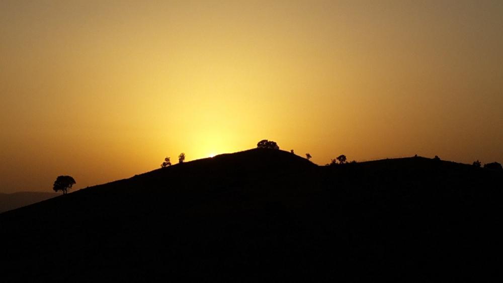 Kurdistan sunset wallpaper