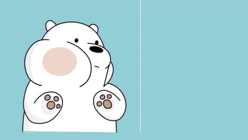 Adorable Polar Bear wallpaper