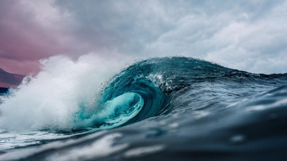 Great ocean wave wallpaper