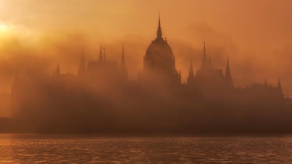 Hungarian Parliament wallpaper