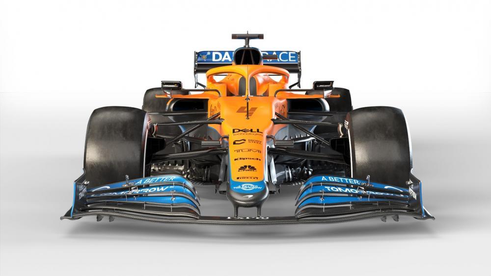2021 F1 McLaren wallpaper