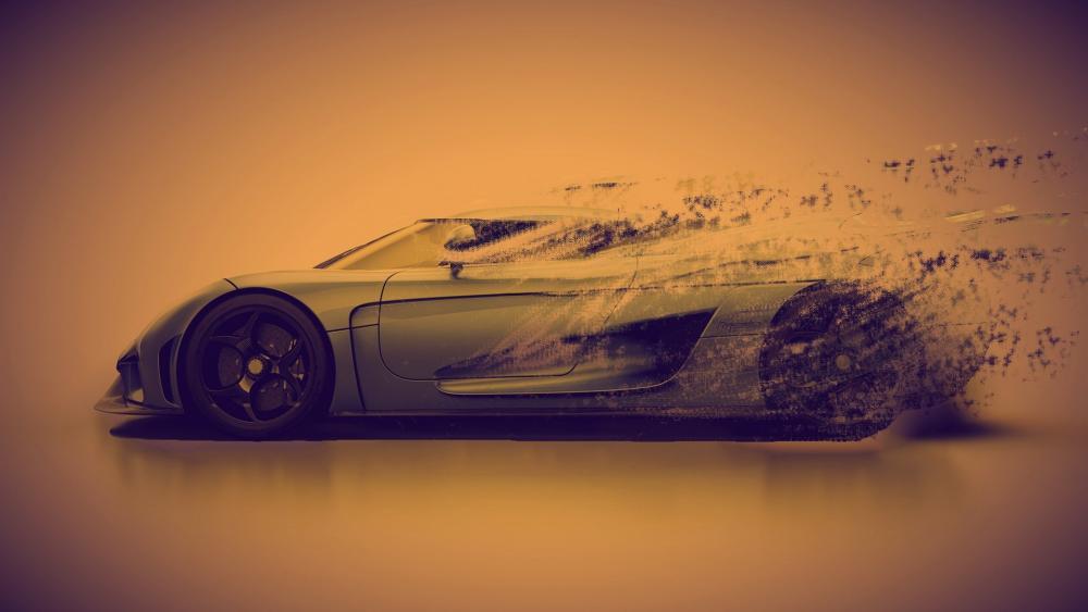 Koenigsegg Regera digital art wallpaper