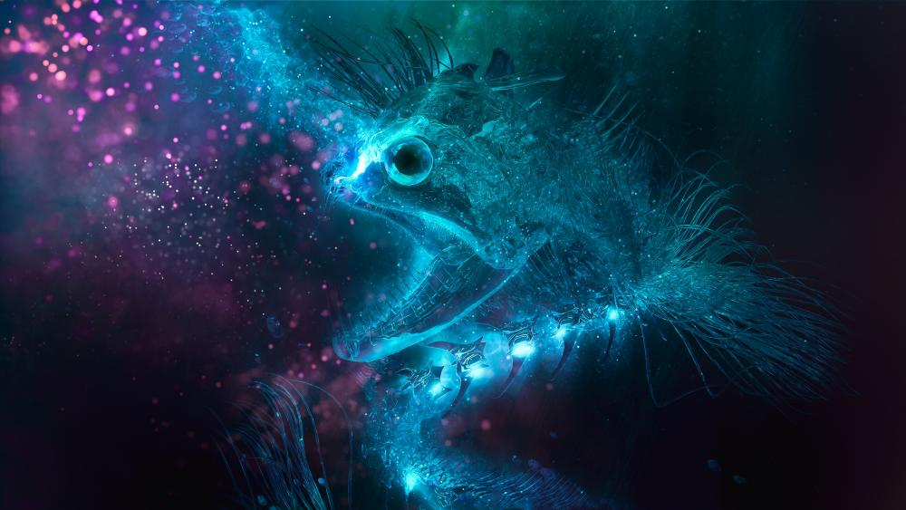 Undead fish wallpaper
