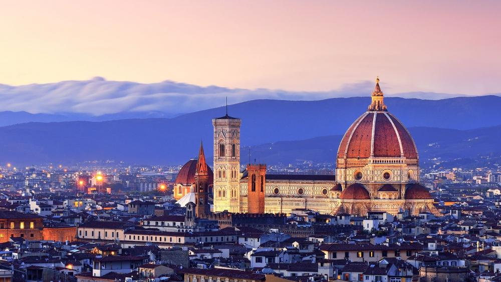 Piazzale Michelangelo wallpaper