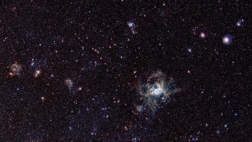 Tarantula Nebula wallpaper