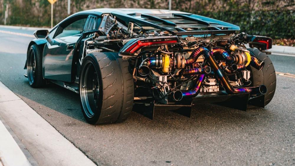 Twin Turbo Lamborghini Huracan wallpaper