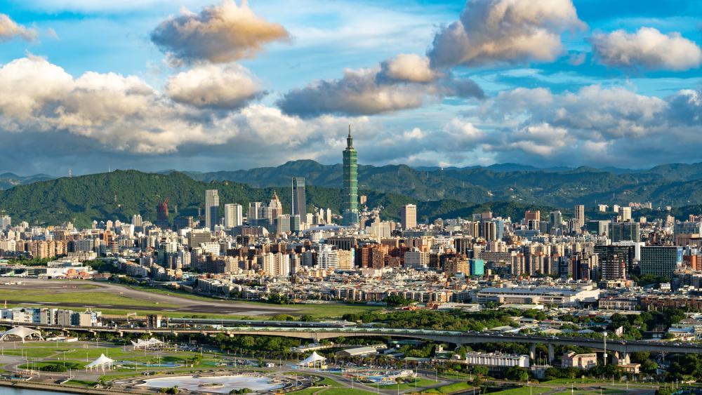 Taipei city wallpaper