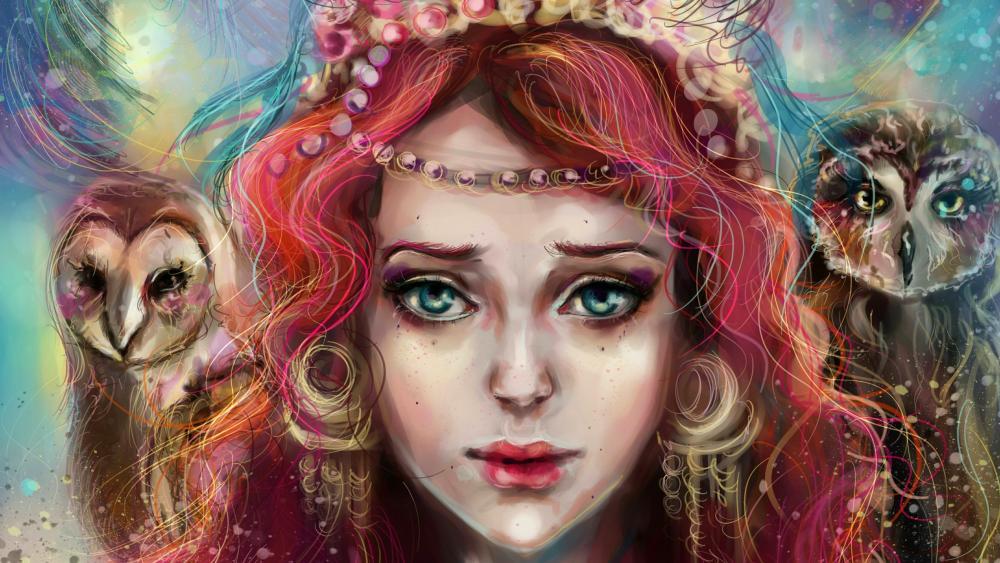 Sad eyes wallpaper