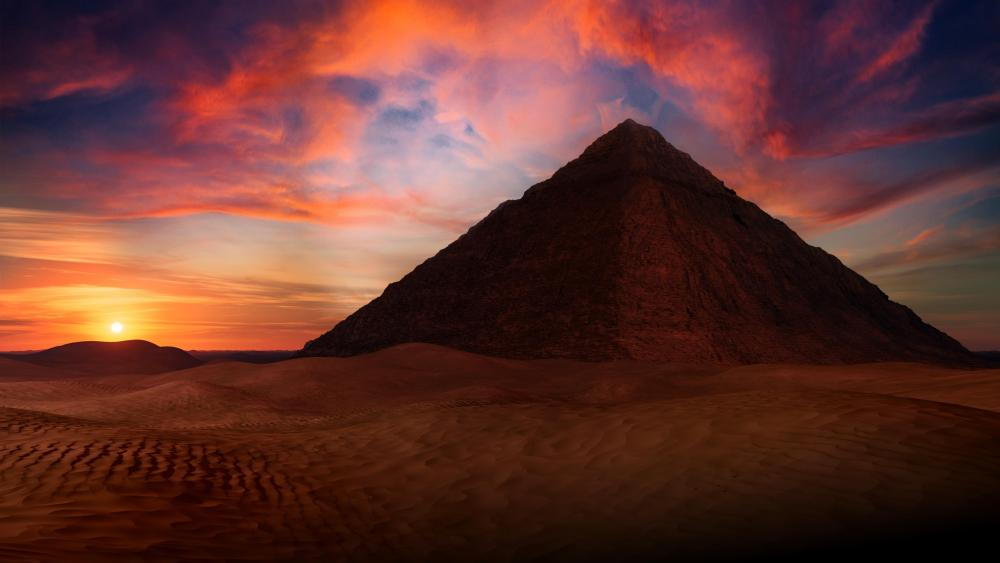 Sunset Egypt 🌇 wallpaper