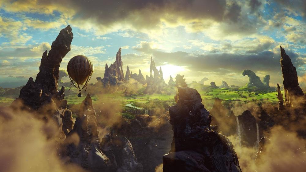 Fantasy trip wallpaper