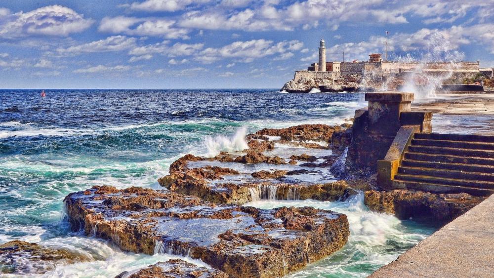 Morro Castle Lighthouse wallpaper