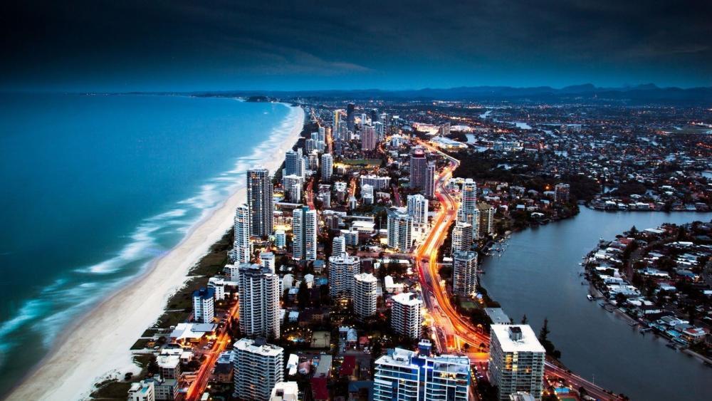 Gold Coast, Queensland wallpaper