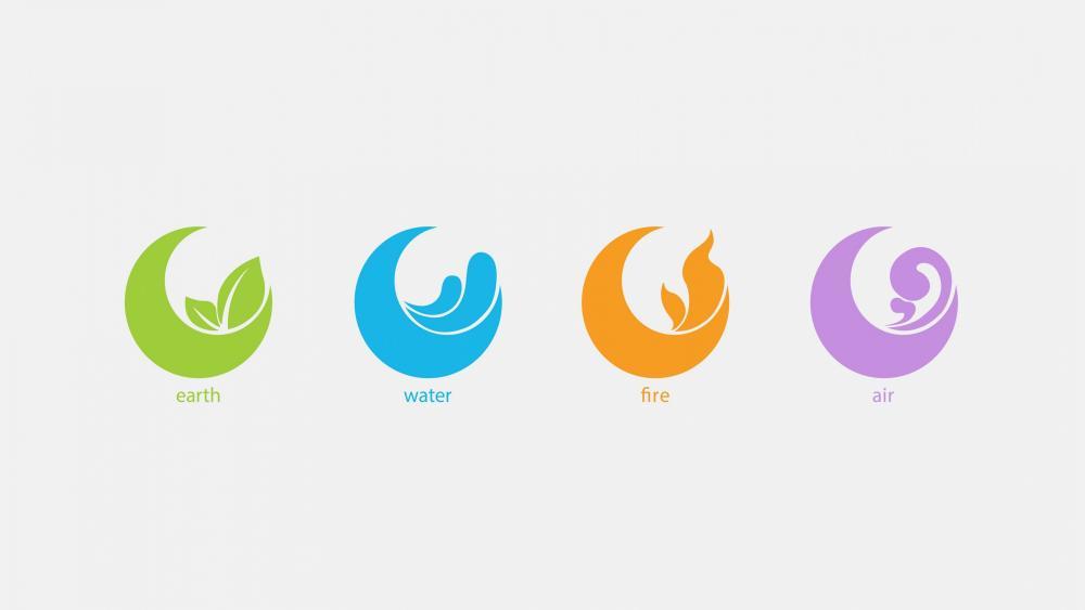 4 Elements wallpaper