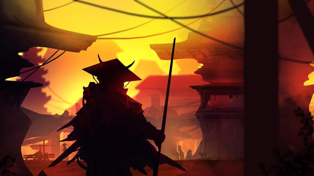 Renegade samurai wallpaper