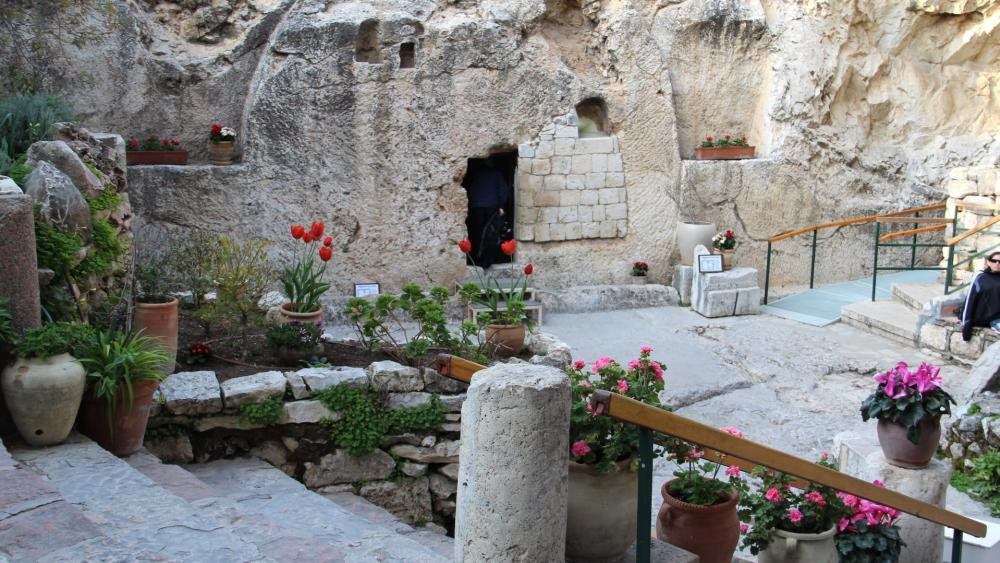 The Garden Tomb Jerusalem wallpaper