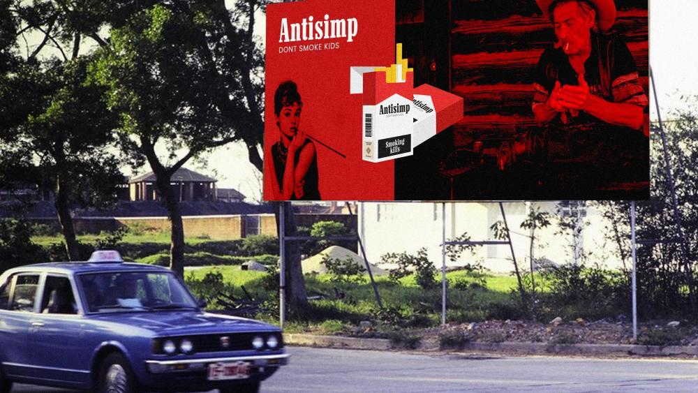 Antisimp Dont Smoke wallpaper