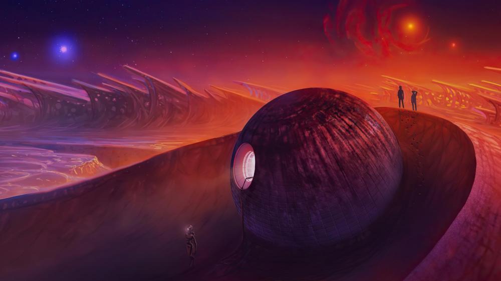 Strange Planet wallpaper