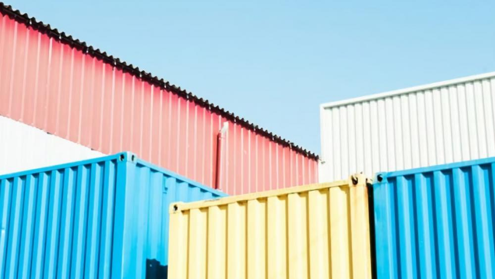 Shipping containers wallpaper
